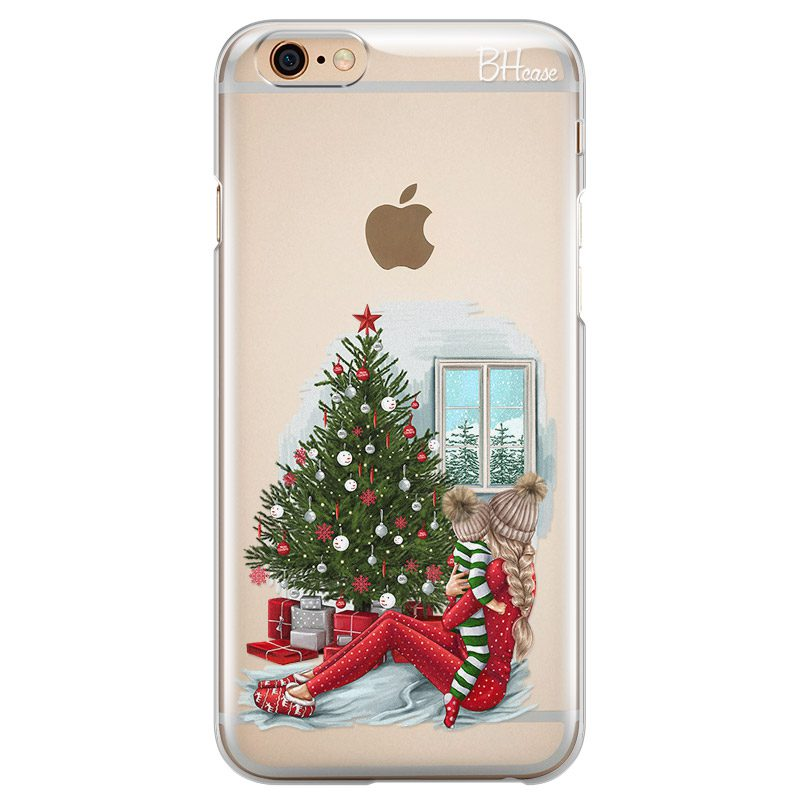 Christmas Mom Blonde Coque iPhone 6/6S