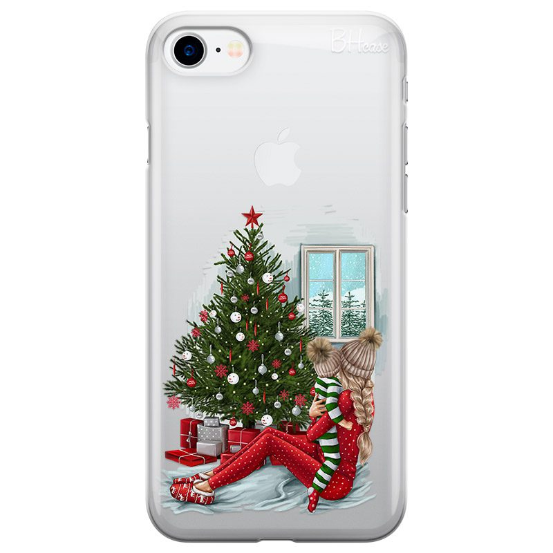 Christmas Mom Blonde Coque iPhone 8/7/SE 2 2020