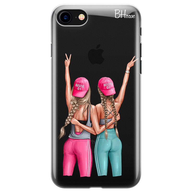 Girls Can Blonde Coque iPhone 8/7/SE 2 2020