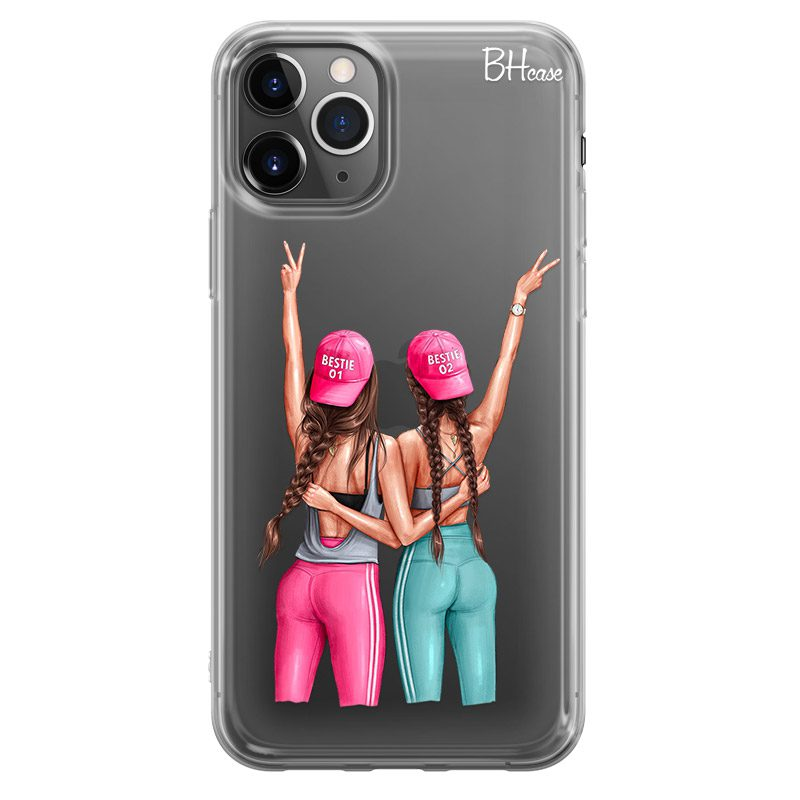 Girls Can Brown Hair Coque iPhone 11 Pro