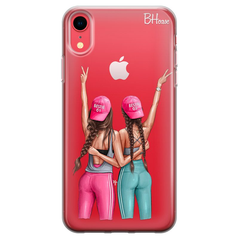 Girls Can Brown Hair Coque iPhone XR