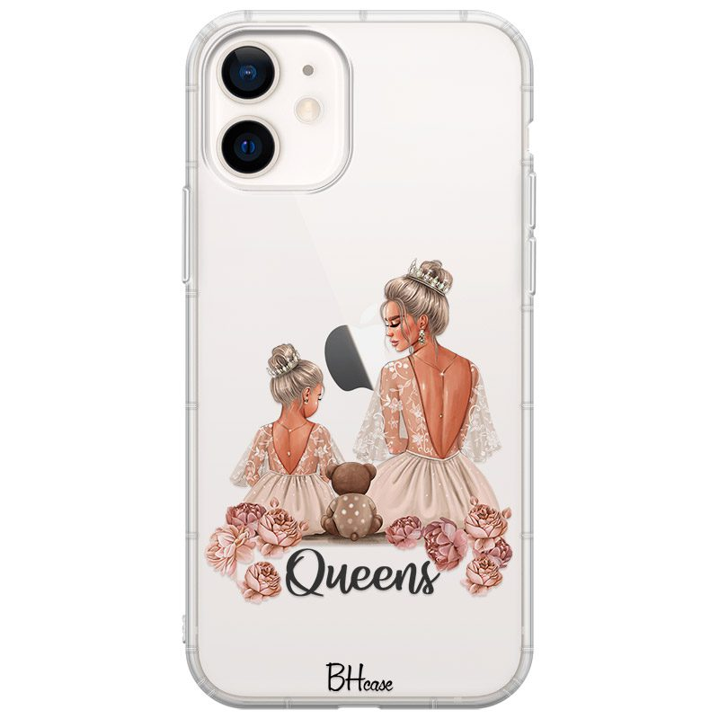 Queens Blonde Coque iPhone 12/12 Pro
