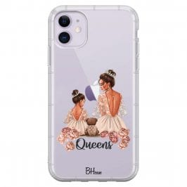 Queens Brown Hair Coque iPhone 11