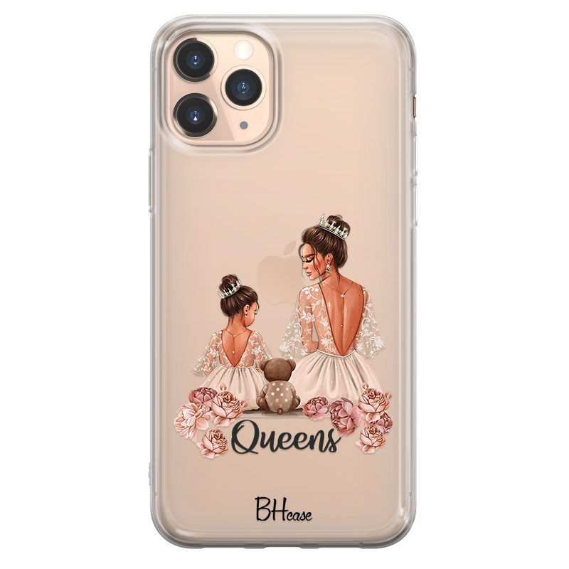 Queens Brown Hair Coque iPhone 11 Pro Max