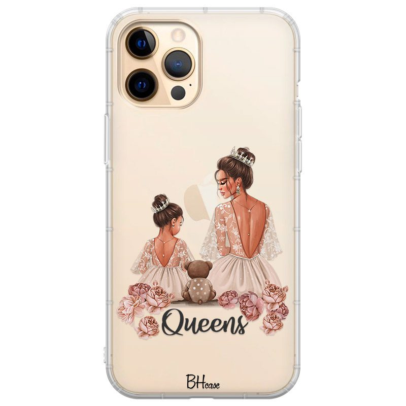 Queens Brown Hair Coque iPhone 12 Pro Max