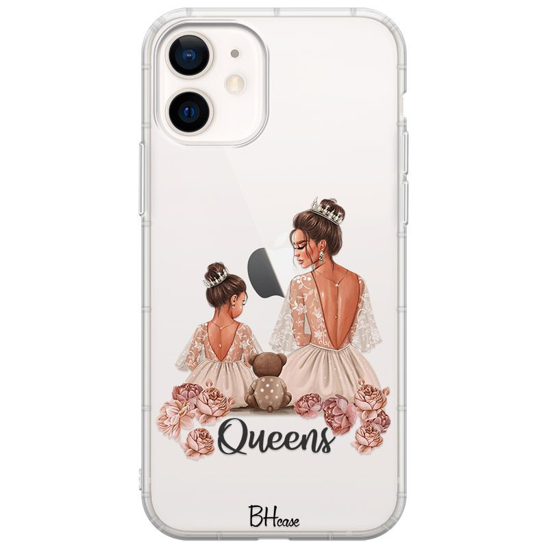 Queens Brown Hair Coque iPhone 12/12 Pro