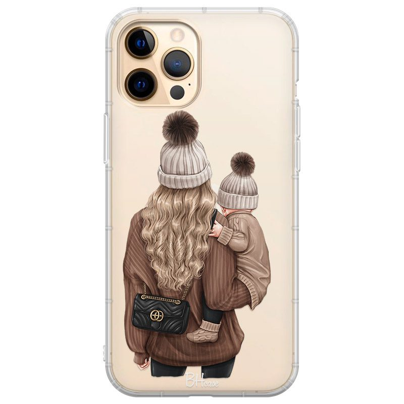 Warm Wishes Mom Blonde Coque iPhone 12 Pro Max