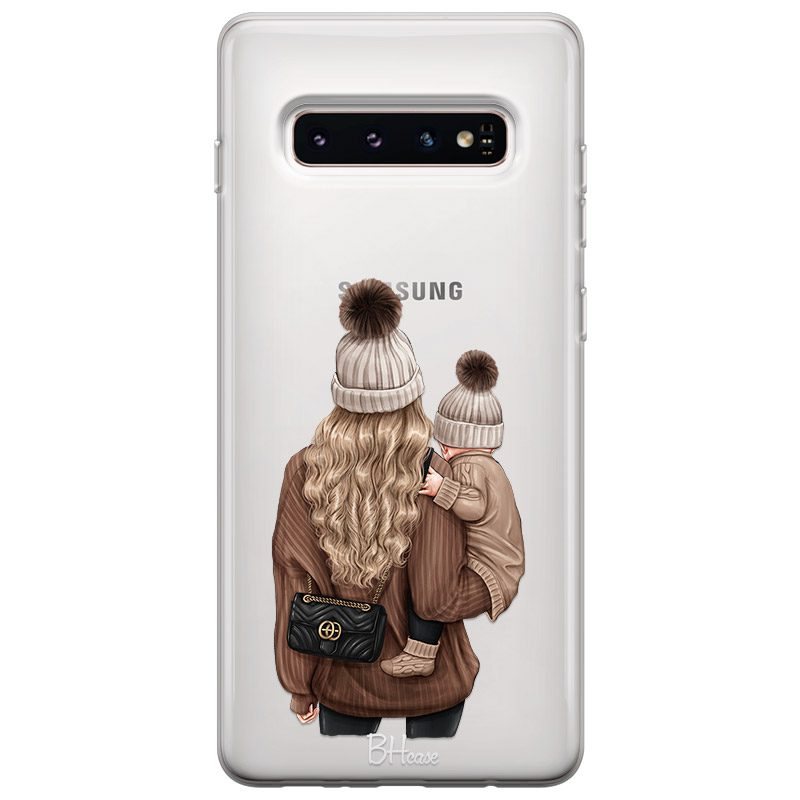 Warm Wishes Mom Blonde Coque Samsung S10