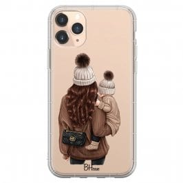 Warm Wishes Mom Brown Hair Coque iPhone 11 Pro