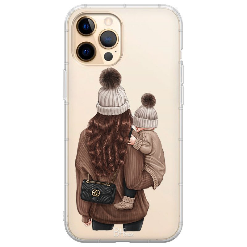 Warm Wishes Mom Brown Hair Coque iPhone 12 Pro Max