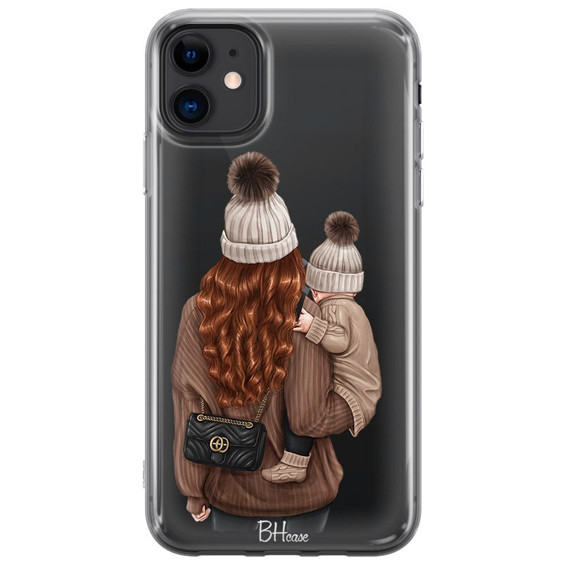 Warm Wishes Mom Redhead Coque iPhone 11