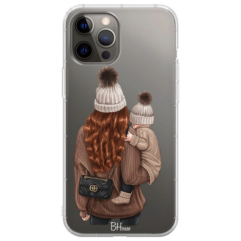 Warm Wishes Mom Redhead Coque iPhone 12 Pro Max