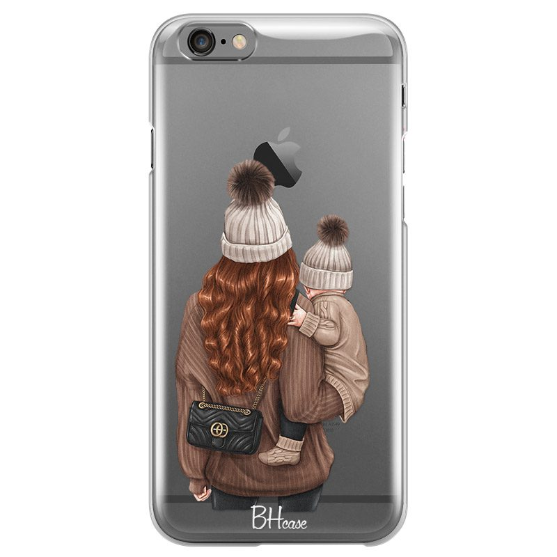 Warm Wishes Mom Redhead Coque iPhone 6/6S