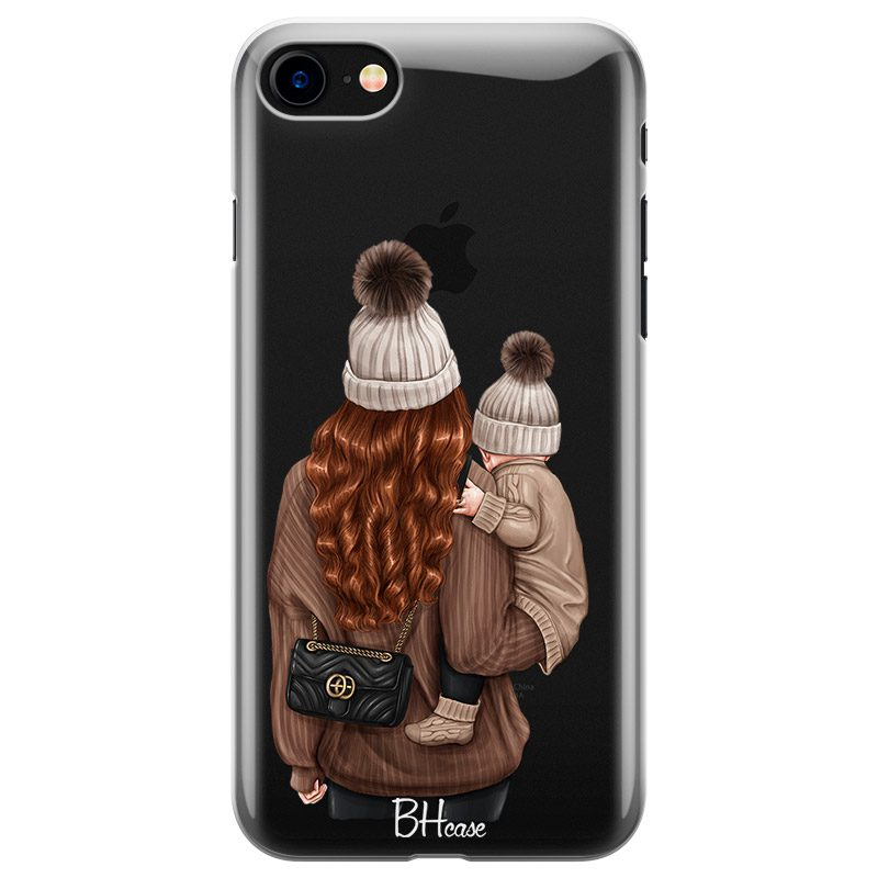 Warm Wishes Mom Redhead Coque iPhone 8/7/SE 2 2020