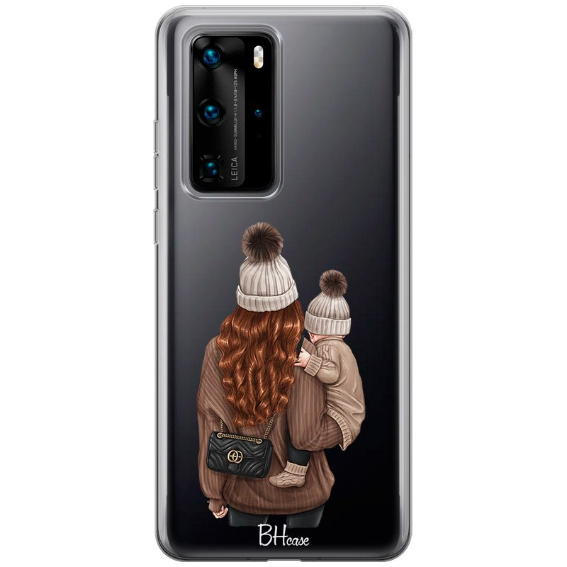 Warm Wishes Mom Redhead Coque Huawei P40 Pro