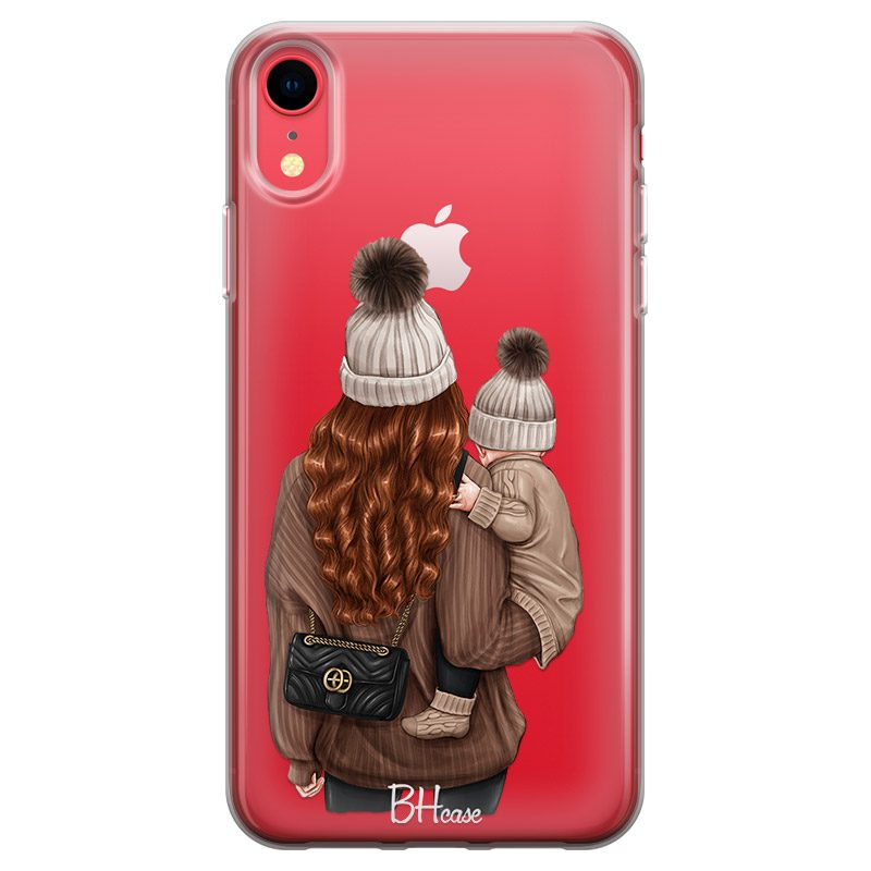 Warm Wishes Mom Redhead Coque iPhone XR