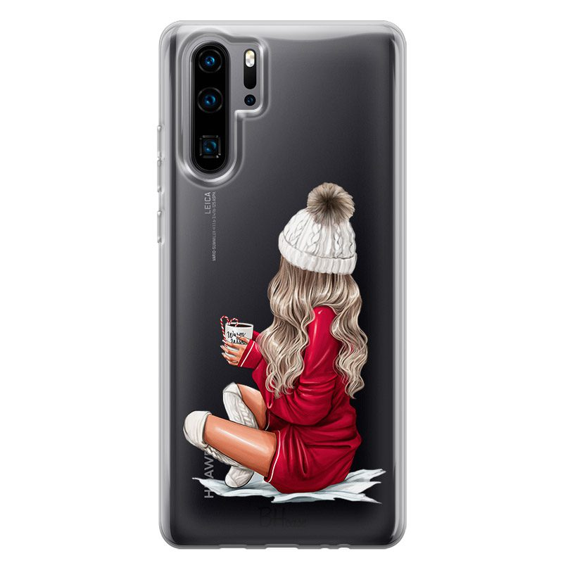 Winter Chill Blonde Coque Huawei P30 Pro