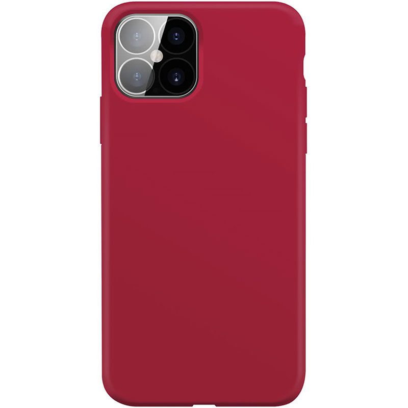 Xqisit Silicone Anti Bac Red Coque iPhone 12 Pro Max