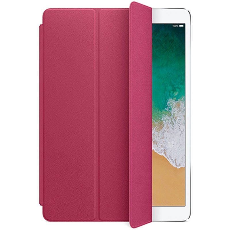"""Apple Leather Smart Cover Pink Fuchsia Coque iPad 10.5"""" Air/Pro"""