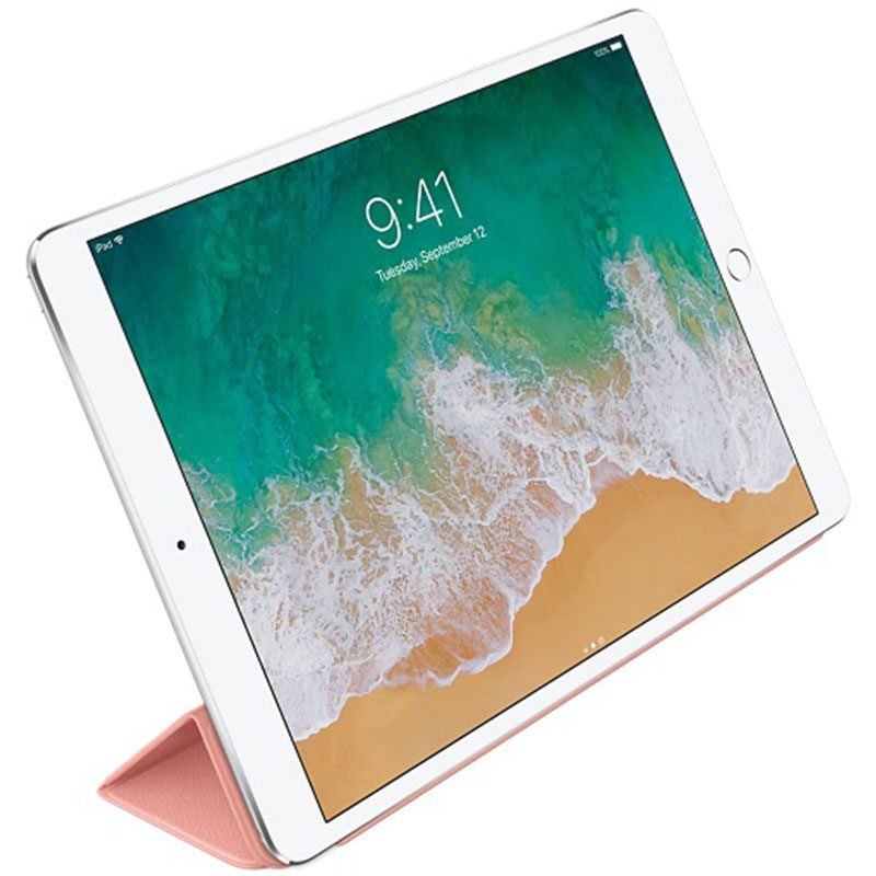 """Apple Leather Smart Cover Soft Pink Coque iPad 10.5"""" Air/Pro"""