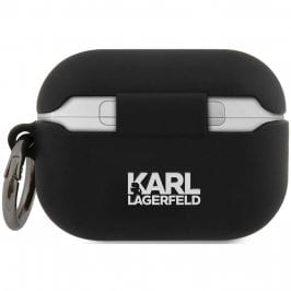 Karl Lagerfeld Rue St Guillaume AirPods Pro Silicone Case Black
