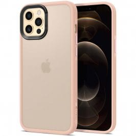 Spigen Cyrill Color Brick Collection Pink Sand Coque iPhone 12/12 Pro
