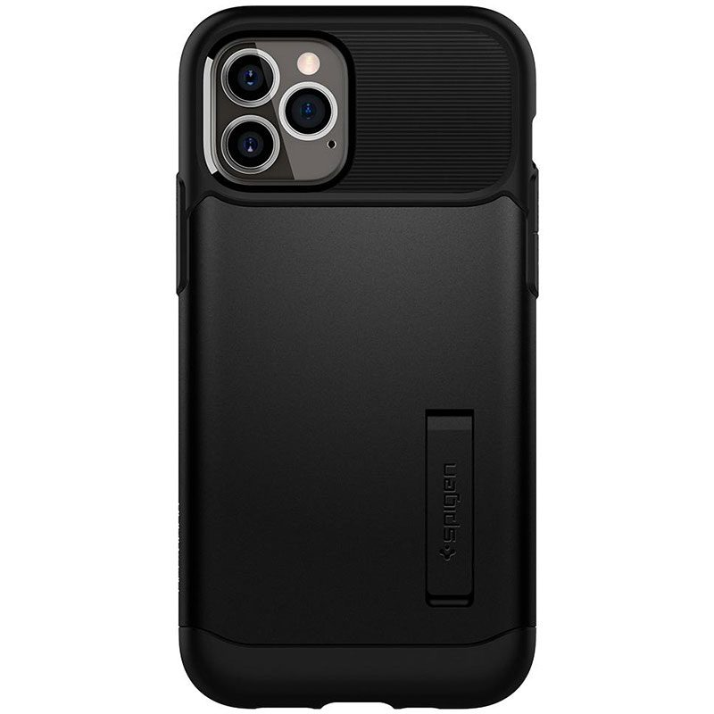 Spigen Slim Armor Black Coque iPhone 12/12 Pro