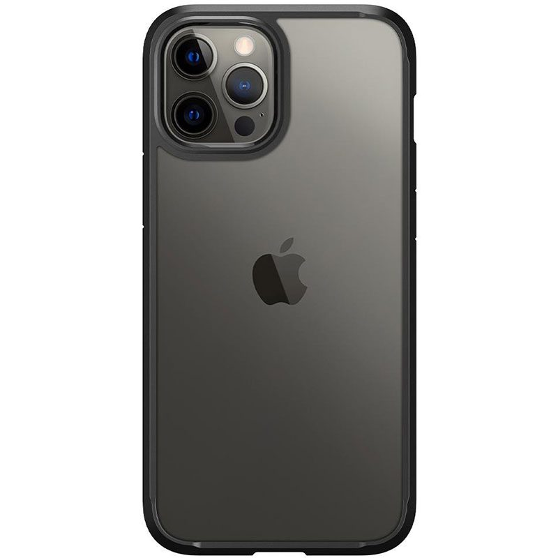 Spigen Ultra Hybrid Matte Black Coque iPhone 12 Pro Max