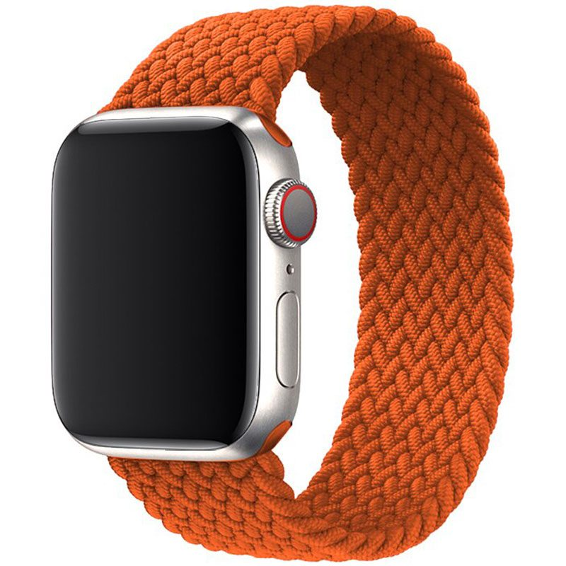 Braided Bracelet Apple Watch 38/40mm Dark Orange