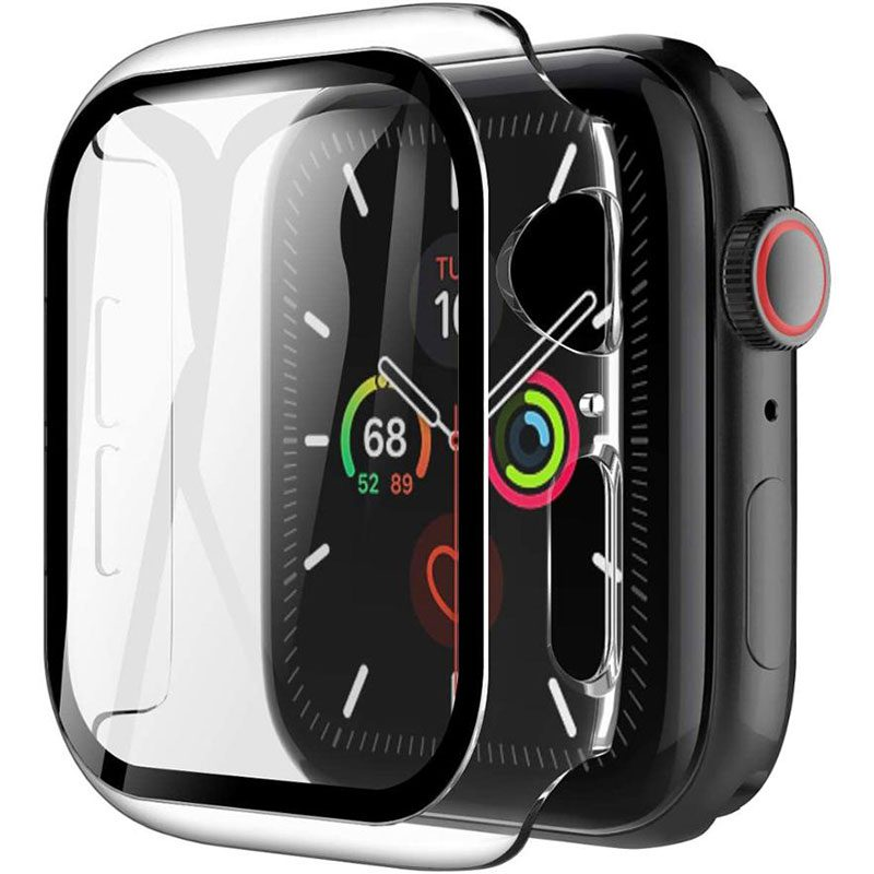 Protective Glass Coque for Apple Watch Matte Transparent