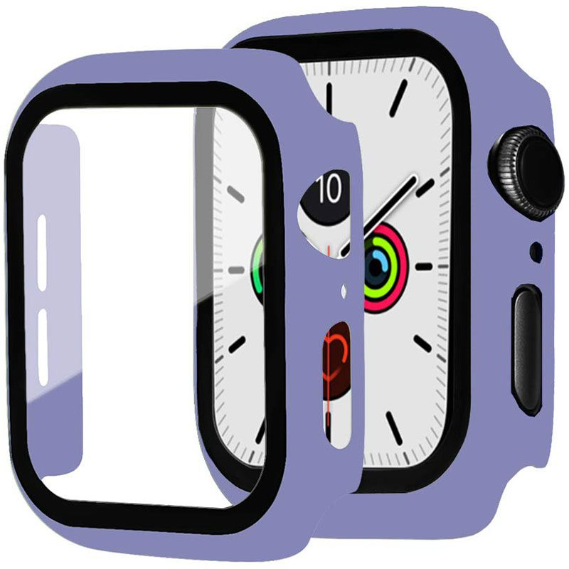 Protective Glass Coque for Apple Watch Sea Blue