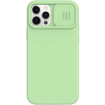 Nillkin CamShield Silky Magnetic Silicone Matcha Green Coque iPhone 12/12 Pro