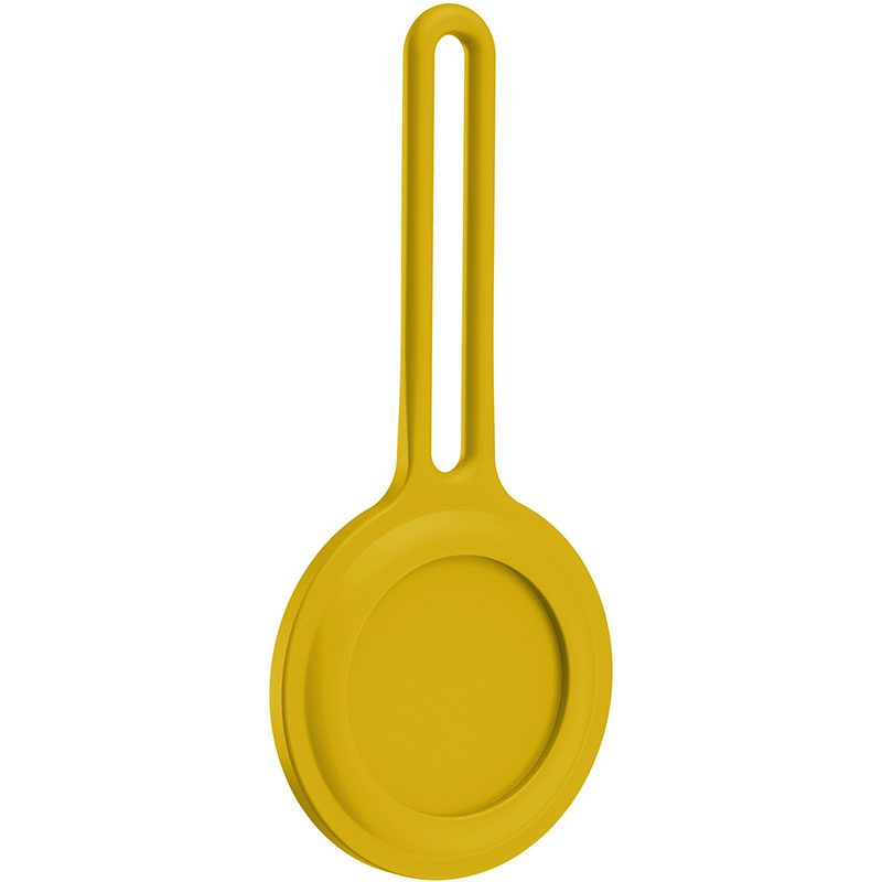 Silicone Case for AirTag Yellow