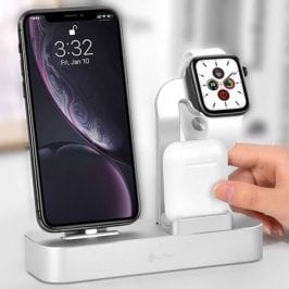 COTEetCI Charging Station 3in1 Silver