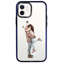 All I Want For Christmas Brown Hair Coque iPhone 12/12 Pro