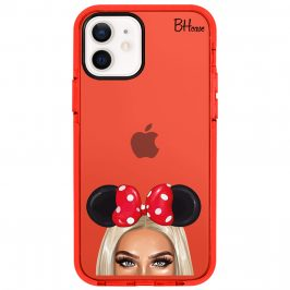 Blonde Girl With Ribbon Coque iPhone 12/12 Pro
