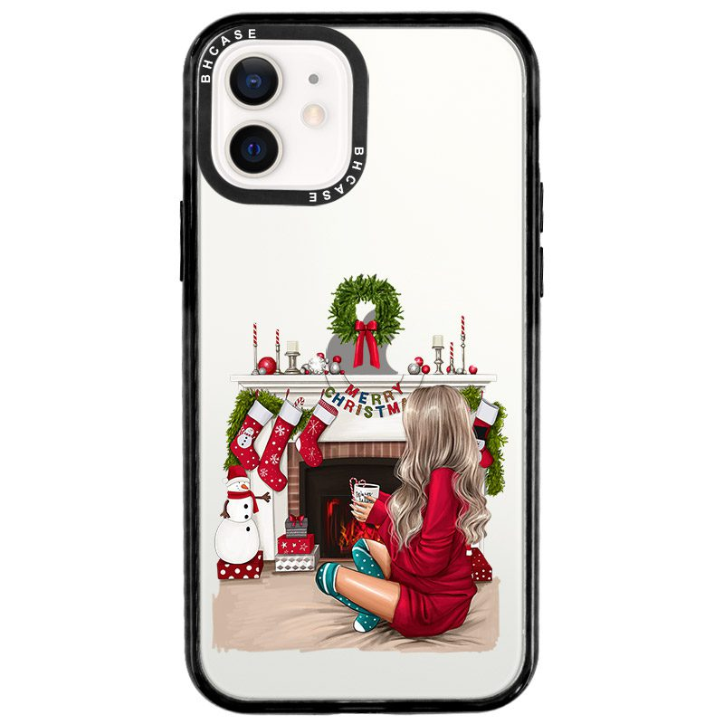 Christmas Day Blonde Coque iPhone 12/12 Pro