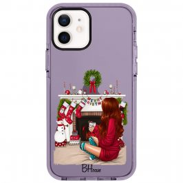 Christmas Day Redhead Coque iPhone 12/12 Pro
