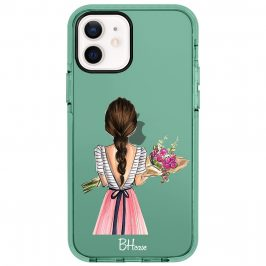 Floral Girl Coque iPhone 12/12 Pro