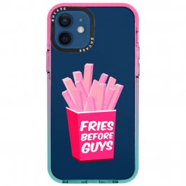 Fries Before Guys Coque iPhone 12/12 Pro