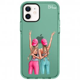 Girls Can Blonde Coque iPhone 12/12 Pro