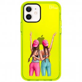 Girls Can Brown Hair Coque iPhone 12/12 Pro