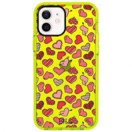 Hearts Red Coque iPhone 12/12 Pro
