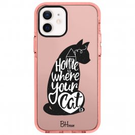 Home Is Where Your Cat Is Coque iPhone 12/12 Pro