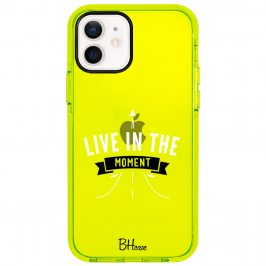 Live In The Moment Coque iPhone 12/12 Pro