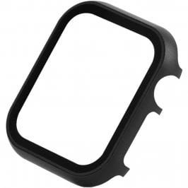 Protective Glass Metalish Coque for Apple Watch Silver