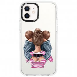 Mom Of Boy Twins Coque iPhone 12/12 Pro