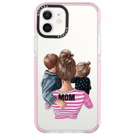 Mom Of Girl And Boy Coque iPhone 12/12 Pro