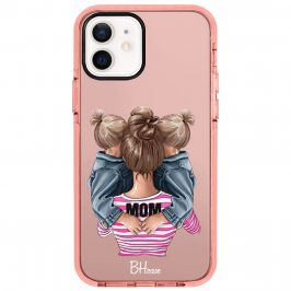 Mom Of Girl Twins Coque iPhone 12/12 Pro
