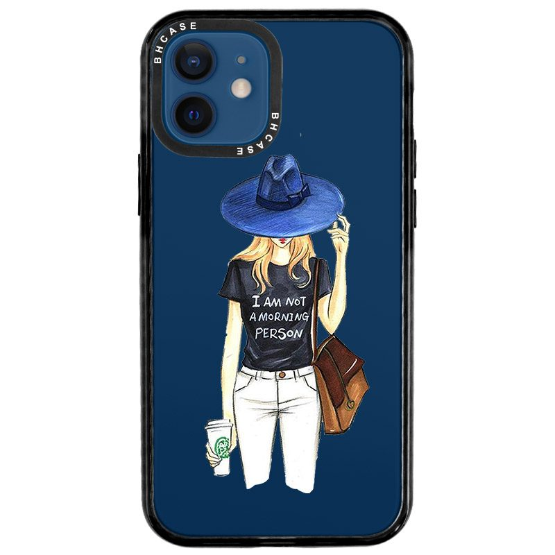 Morning Person Girl Coque iPhone 12/12 Pro